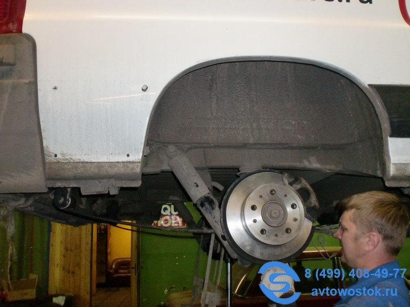 Ремонт подвески Fiat Ducato