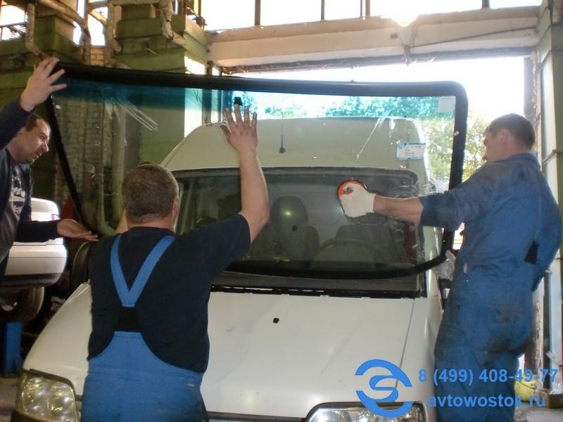Замена лобового стекла Fiat DUCATO