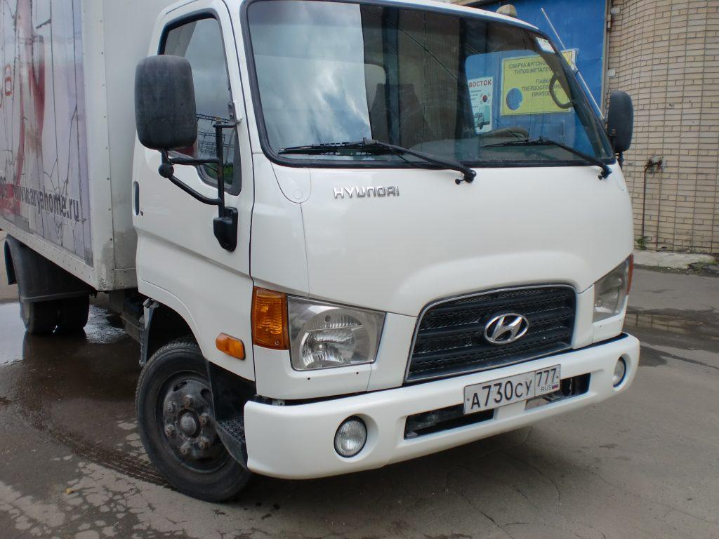 Кузовной ремонт и покраска Hyundai HD78